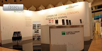 universeller Messe- und Eventstandes für Cortal Consors S.A., Zweigniederlassung Deutschland