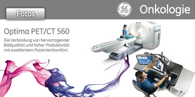 Europapremiere / Product Launch des neuen GE Healthcare Optima PET/CT 560 System