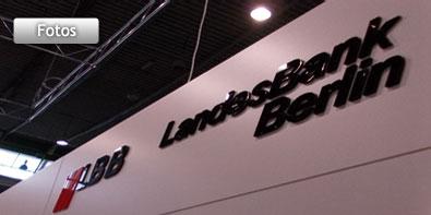 Weiterentwicklung eines Messestandes für die Landesbank Berlin AG (LBB) auf der Invest 2012